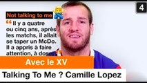 Talking To Me Camille Lopez - Team Orange Rugby