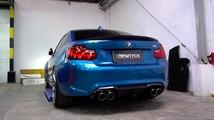 VÍDEO: Mira cómo ruge este BMW M2 con escapes modificados, ¡menuda sinfonía!