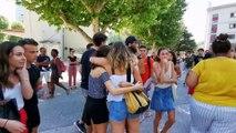 Les candidats du baccalauréat 2019 découvrent les résultats au lycée Dumont d'Urville à Toulon