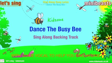 Kidzone - Dance The Busy Bee (Sing Along Backing Track)