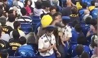 Quand un fan de baseball utilise son fils pour... taper sur des supporters adverses !
