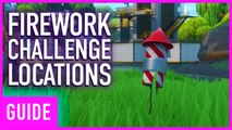Fortnite Season 9: Launch 3 Fireworks Along The River | 14 Days Of Summer Challenges