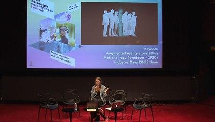 Narration et réalité augmentée parMariana Irazu I NewImages Festival 2019