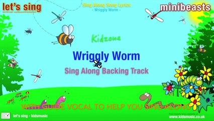 Kidzone - Wriggly Worm (Sing Along Backing Track)