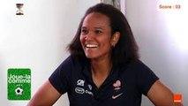 Wendie RENARD Amel MAJRI Joue-la comme  Team Orange Football #TeamOrange