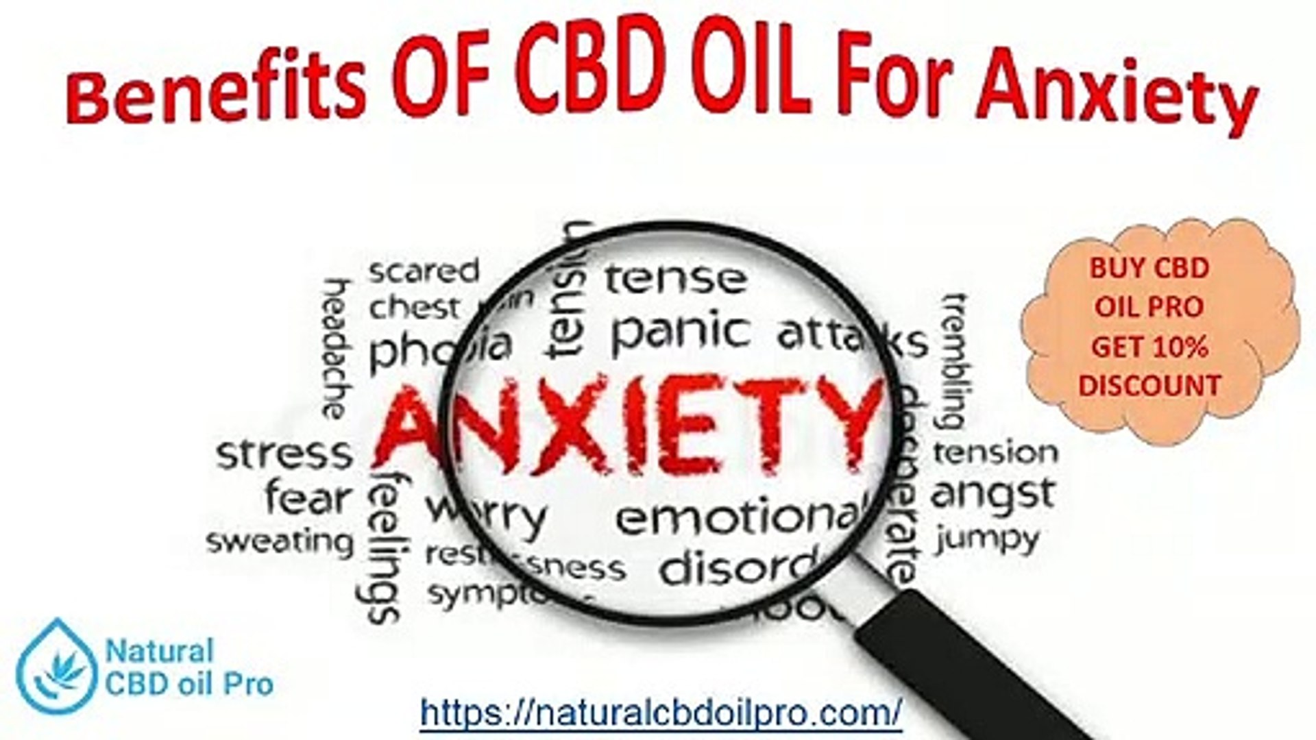 USE OF CBD OIL PRO IN ANXIETY & ITS BENEFITS
