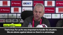 (Subtitled) Egypt head coach admits pressure of being favourites ahead of AFCON round of 16 game