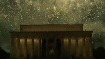 I fuochi artificiali del 4 luglio illuminano Washington