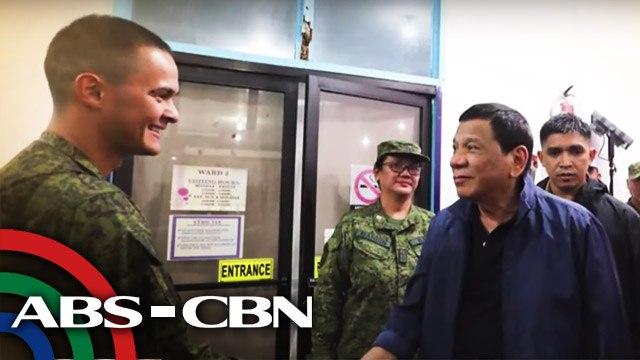 Matteo Guidicelli, isa sa mga bumati kay Pres. Duterte sa kanyang pagbisita sa Zamboanga City | UKG