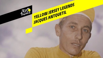 Yellow Jersey Legends - Jacques Anquetil by Raymond Poulidor