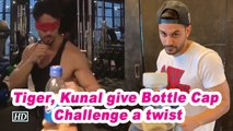 Tiger, Kunal give Bottle Cap Challenge a twist