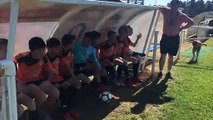 Tournoi du Sporting: les petits supporters (1)