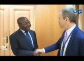 RTG - Le Ministre de la communication reçoit en audience le coordonnateur du système des Nations unies et l'ambassadeur du Liban au Gabon