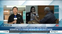 Hari Terakhir Pendaftaran Capim KPK, 213 Orang Sudah Mendaftar