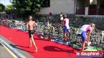Triathlon : les sportifs à l'assaut des Gorges de l'Ardèche !