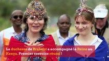 Les premiers pas d'Elisabeth en mission humanitaire au Kenya