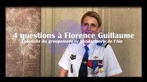 4 questions à la colonelle Florence Guillaume