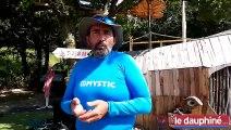 Un catamaran pour voler sur les eaux du Monteynard