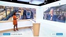 Vacances : 25 millions de voyageurs attendus dans les gares