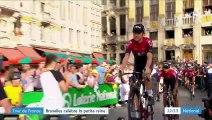 Tour de France : Bruxelles célèbre la petite reine