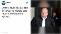Enfants fauchés à Lorient : Eric Dupond-Moretti, le nouvel avocat de Kilian