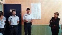 Inauguration de la salle Jean-Louis Martin au commissariat de police de Pontarlier