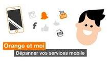 Orange et moi - Dépanner vos services mobile