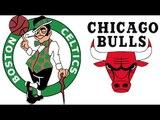 Emocionante partido de playoffs entre Bulls vs Celtics en la NBA