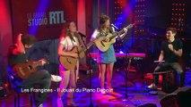 Les Frangines - Il Jouait du Piano Debout (Live) - Le Grand Studio RTL