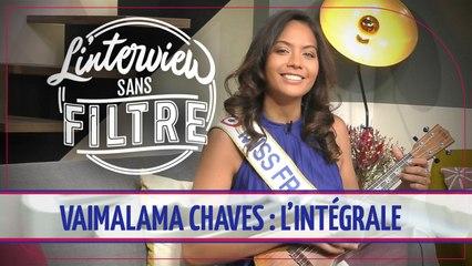 Vaimalama Chaves (Miss France 2019) : découvrez l'intégralité de son Interview sans filtre