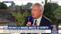 """Bruno Le Maire: """"Il faut recentrer la prime à la conversion sur les ménages qui en ont le plus besoin"""""""