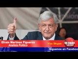 Rumbo a 2018, podríamos presenciar un voto antisistema: Efraín Martínez Figueroa