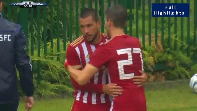 4-0 Guerrero Hat-trick Goal - Olympiakos Piraeus 4-0 Jagiellonia - 05.07.2019