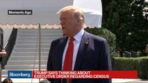 Trump Says He May Issue Executive Order to Add Census Citizenship Question