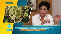 Ofelia Medina nos da su opinión sobre el uso medicinal de la marihuana. | Venga La Alegría