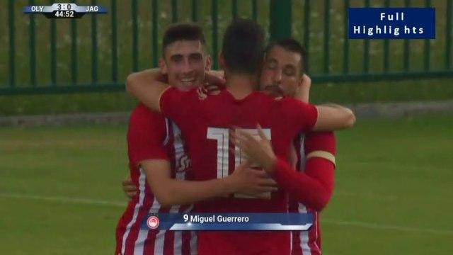 Olympiakos Piraeus 5-0 Jagiellonia - All Goals  05.07.2019