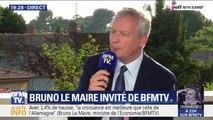 Réforme des retraites: comment Bruno Le Maire justifie t-il le départ à la retraite à taux plein à 64 ans?