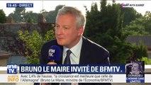 """Bruno Le Maire: """"La privatisation d'ADP peut permettre le développement de cet aéroport dans les meilleures conditions"""""""