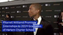 Pharrell Williams Is Giving Prestigious Internships