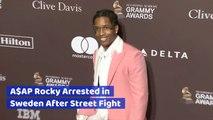 Rapper 'ASAP Rocky' Gets Arrested Abroad