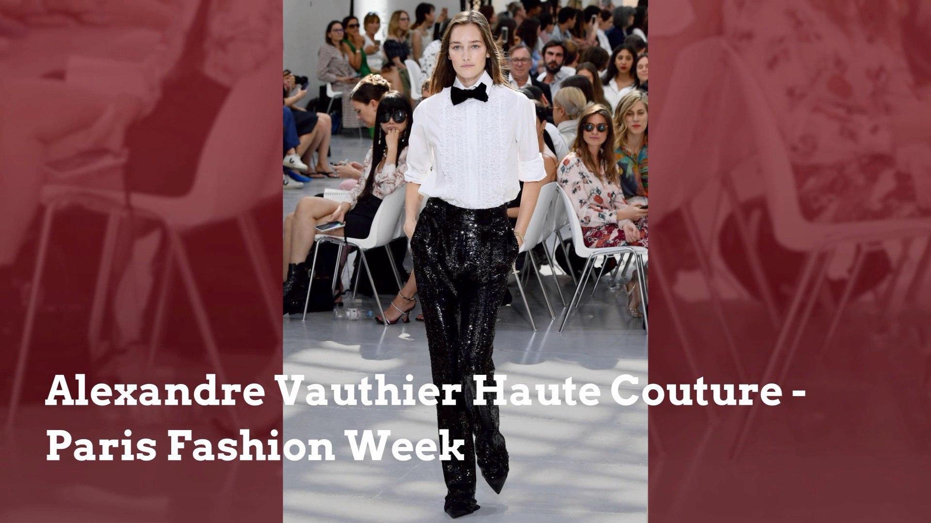 casual shoes wholesale outlet cute cheap Paris Fashion Week: Alexandre Vauthier Haute Couture - video ...