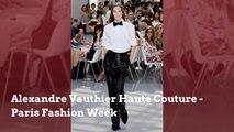 Paris Fashion Week: Alexandre Vauthier Haute Couture