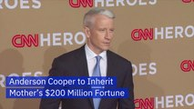 Anderson Cooper's Net Worth Has Increased By 200 Million