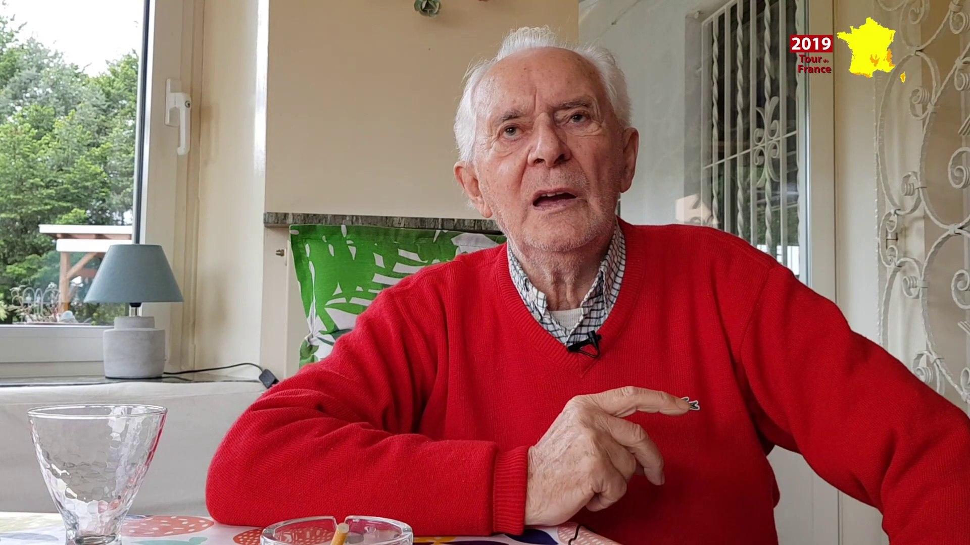 Roger Hassenforder revient sur victoires du Tour en 1955 et 57 à Colmar