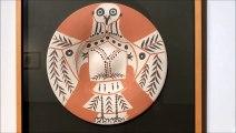La cerámica de Picasso en una exposición en Valladolid