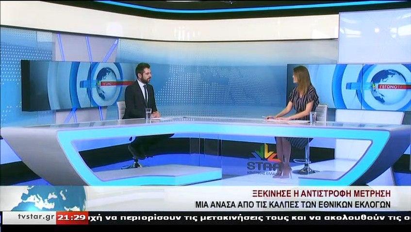 Ο υποψήφιος βουλευτής ΣΥΡΙΖΑ ΦΘΙΩΤΙΔΑΣ, Γ. ΣΑΡΑΚΙΩΤΗΣ, στο STAR Κεντρικής Ελλάδας