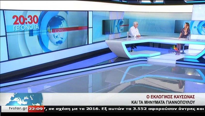 Ο πρώην Υφ. Υγείας, Θ. ΓΙΑΝΝΟΠΟΥΛΟΣ, στο STAR Κεντρικής Ελλάδας