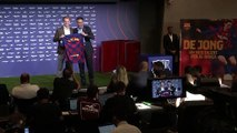 """de Jong delighted to have completed """"dream"""" move to Barcelona"""