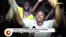 CAN 2019 : euphorie dans les rues de Cotonou