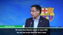 'Neymar wants to leave PSG' - Barca president Bartomeu